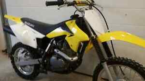 2011 drz 125 low hours trade for sled