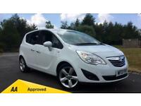 2013 Vauxhall Meriva 1.4i 16V Tech Line 5dr Manual Petrol Estate