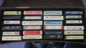 20-8 Track Tapes and Case