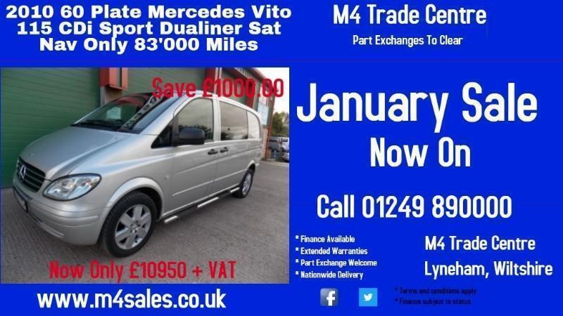 Mercedes Vito 115 CDI COMPACT DUALINER SPORT