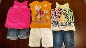 Girl size 8/10 summer clothing lot