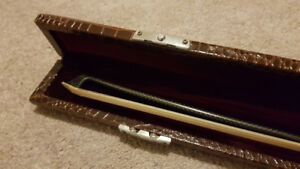 Leather violin bow case for sale