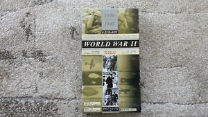 World War II 8 DVD Box-Set with accompanying Book