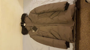 New Mackage Edward Parka with black fur