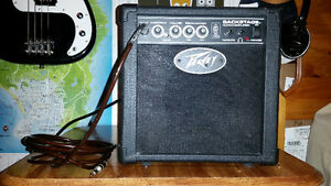 Peavey Backstage Guitar Amplifier + Fender Cable