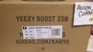 Selling Size 13 Yeezy 350 Blue Tint