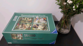 Free Shipping in UK 18.000 Pieces Vintage Puzzle Complete 276×192 cm