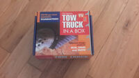 Tow truck in a box mud sand  survival