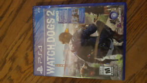 Unopened Watchdogs 2 for PS4