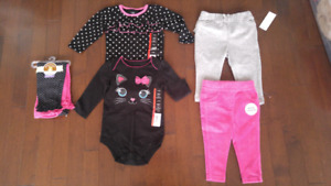 Baby Girl Clothes (6-12 months).