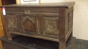 Hand Crafted Antique Trunk