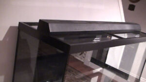 75 Gal tank complete with stand, sump, skimmer, RO Unit,& pump
