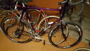 DURA ACE 8 SPD RD BIKE GRP+ CHAIN CASETTE WHEELS BB BARS HEADSET