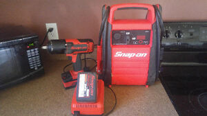 Snap On Cordless 1/2 inch impact & Booster pack