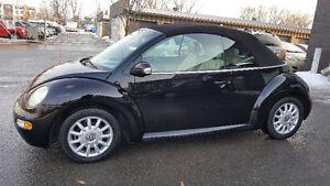 2004 Volkswagen New Beetle GLS *CONVERTIBLE* 96000 km SEULEMENT