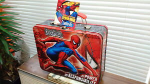 Brand New Spiderman Metal Lunch Box - Marvel