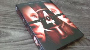 THE X-FILES SEASON 4 (RARE DVD EDITION) IN MINT CONDITION