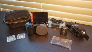 Sony NEX-5R E-Mount Camera with Extras