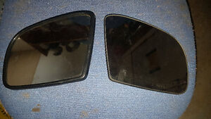 SET MERCEDES ML GL W164 X164 SIDE MIRROR GLASS OEM OE PAIR LH RH
