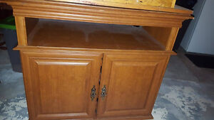 Tv Stand with the capacity to hold a large amount of dvds Cambridge Kitchener Area image 1