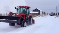 Snow removal in Miramichi East and towing/ transport.