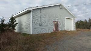 Large Open Concept Building & Land in Sambro
