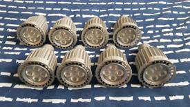 Philips 8W 2700K 410lm 40ma 40D GU10 Dimmable LED Bulbs