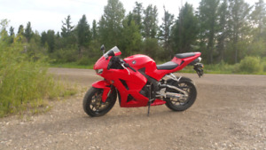2013 Honda CBR600RR low km