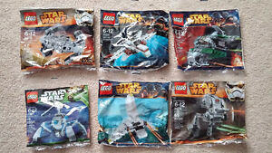 LEGO Star Wars Polybag Lot - 30247 30275 30244 30246 30274 30243