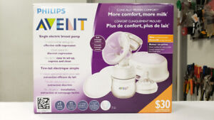 Philips Avent Electric Breast Pump - NEW