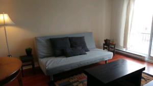 Fully furnished apartment - Available October 9th