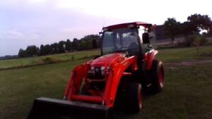 Loader good cond.Low hrs.