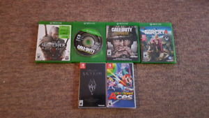 Xbox / Switch games
