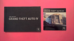 GTA 4 Art Book + Soundtrack - PS3/360 - Like New Condition