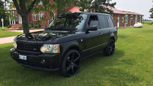 --MINT-- Black Range Rover HSE SUPERCHARGED -- HEAD TURNER --