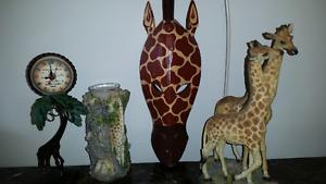 Ensemble de girafes