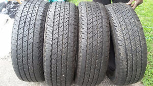 *NEW PRICE**4 ALL-SEASON P235/65R18 tires for sale -- ROADIAN HT
