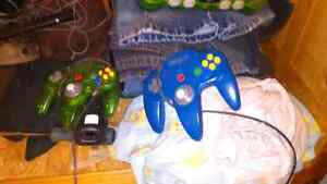 Two n64 controllers 10.00 each