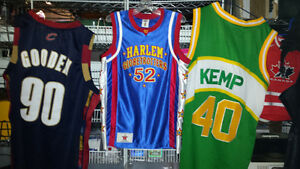 NBA jerseys and hats