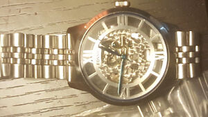 Brand New Beautiful Skeleton Automatic Fossil Watch