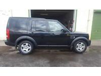 Land Rover Discovery 3 2.7TD V6 auto 2006MY S Black 126k miles