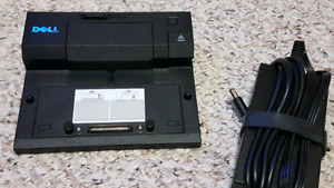 Dell laptop docking station  + 1 original chargers