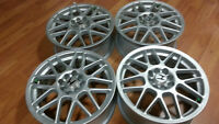 4- MAGS STYLE BBS POUR HONDA CIVIC-HONDA FIT-PLUSIEURS MODE