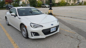 LEASE TAKEOVER - SUBARU BRZ 2017 SPORT-TECH 6SP WHITE