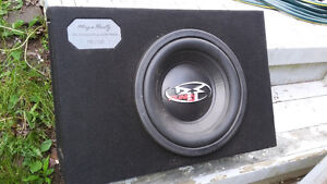 "12"" Rockford Fosgate subwoofer and sealed boxes"