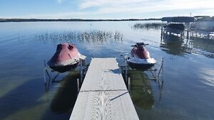 Two 2009 Seadoo GTI Seadoos,Trailer and Lifts