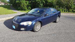 2005 Chrysler Sebring **LOW KMS Priced TO SELL** As Is