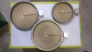 Glasstop Electric Range Stove Surface Element