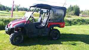 2011 POWER MAX ROUGH RIDER SIDE BY SIDE