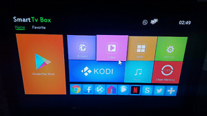 Android  box  kodi